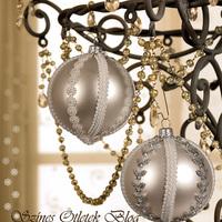 Karácsonyi gömbök új köntösben
