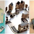 Kreatív ötlet esős napokra - Készítsünk dobozvárost a gyerekekkel!