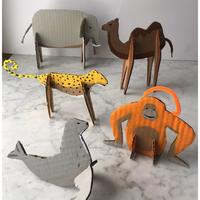Csináld magad állatkert - Figurák újrahasznosított kartonból