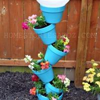 Csináld magad: Kerti virágtartó állvány