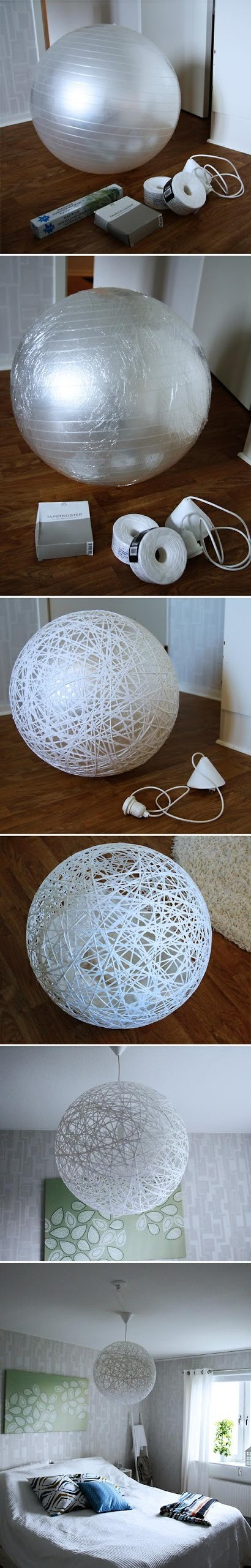 Do it yourself - make beautiful lampshade from string.jpg