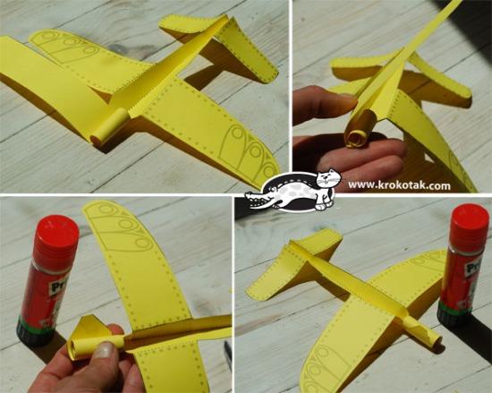 Papírrepülő sablon