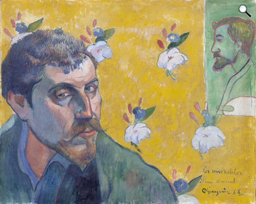 Önarckép Émile Bernard portréjával, 1888