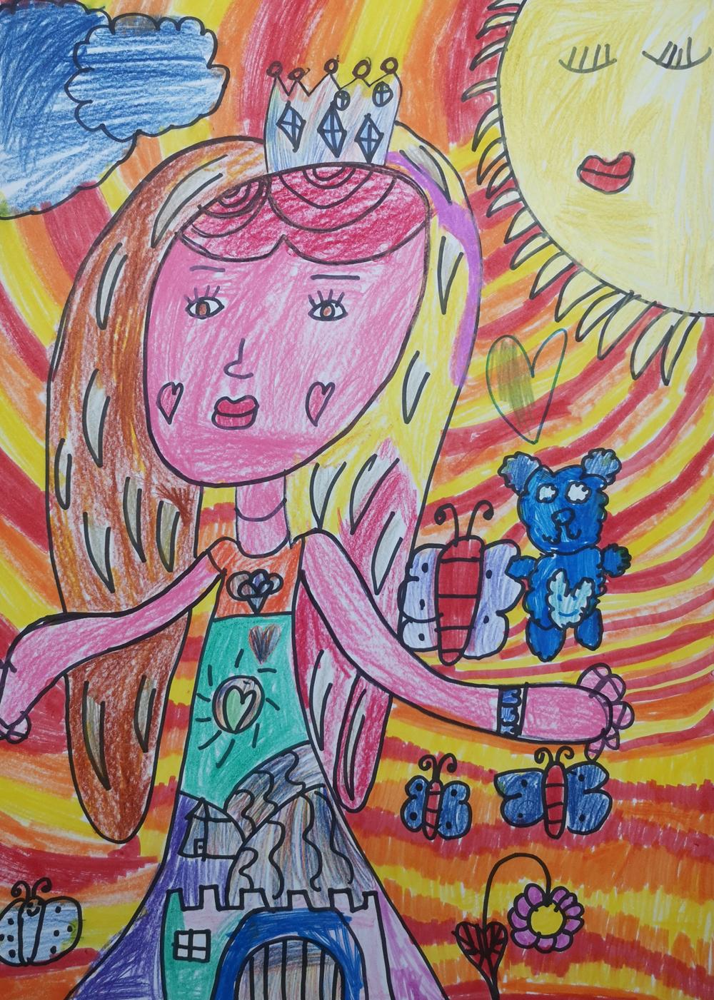 Balogh Edit Boglárka, 9 éves