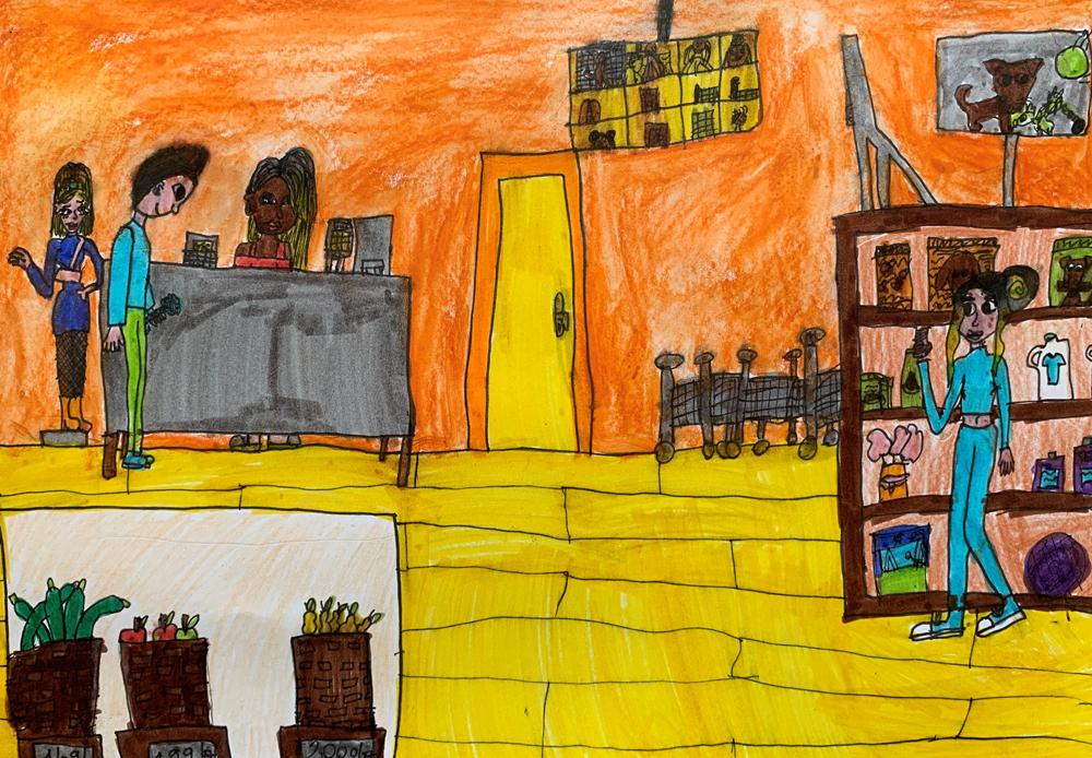 Balogh Eszter, 9 éves