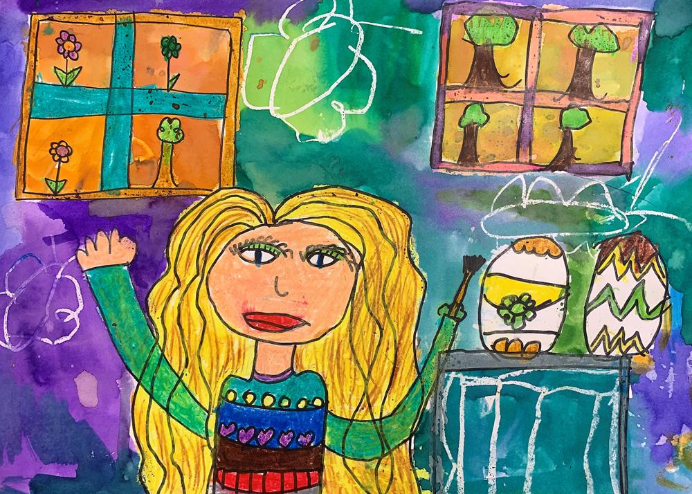 Bujdosó Szonja, 9 éves