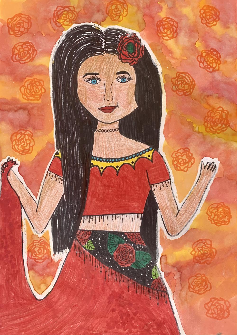 Gurbai Virág, 13 éves
