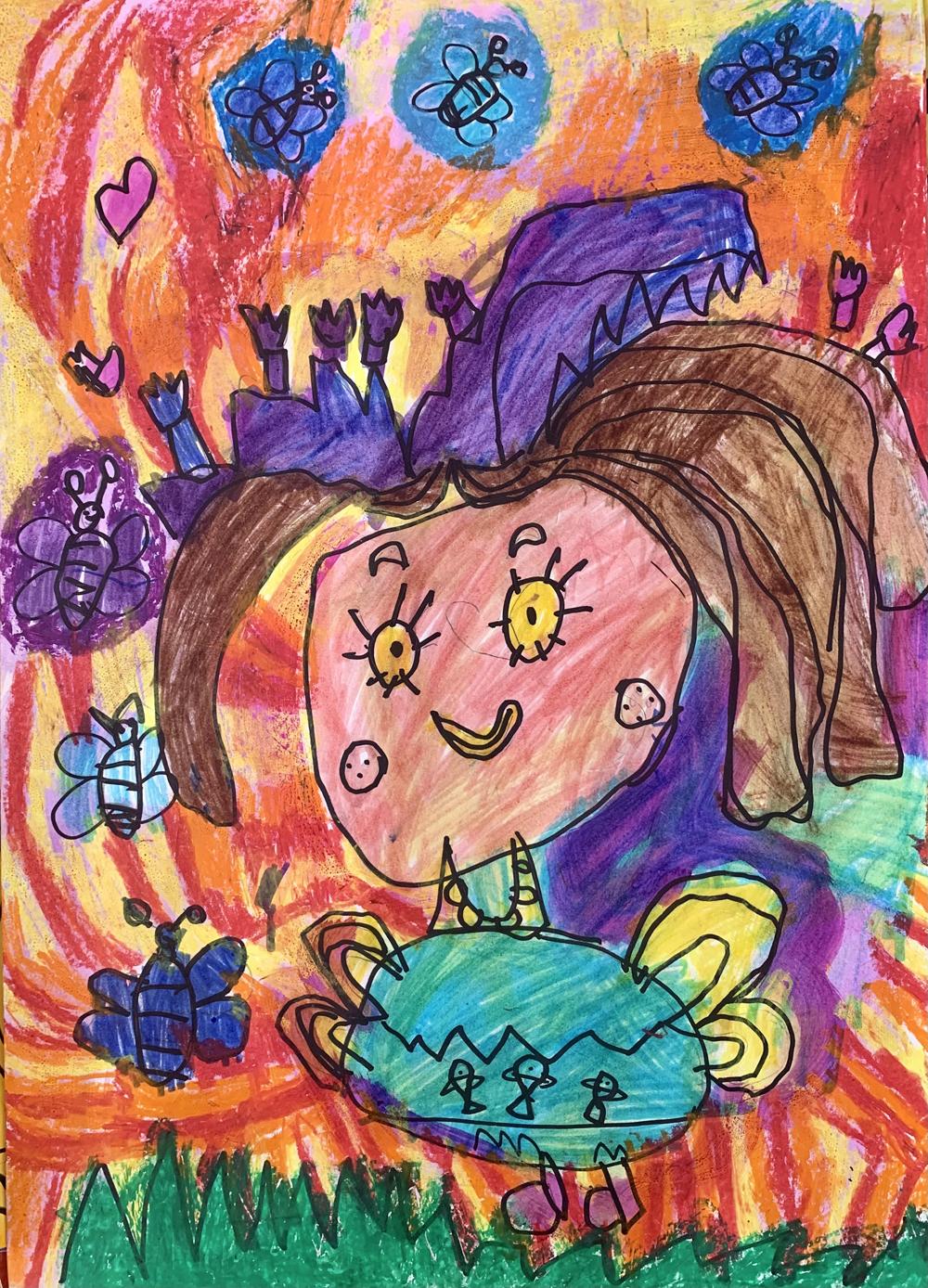 Jónás Szintia, 6 éves