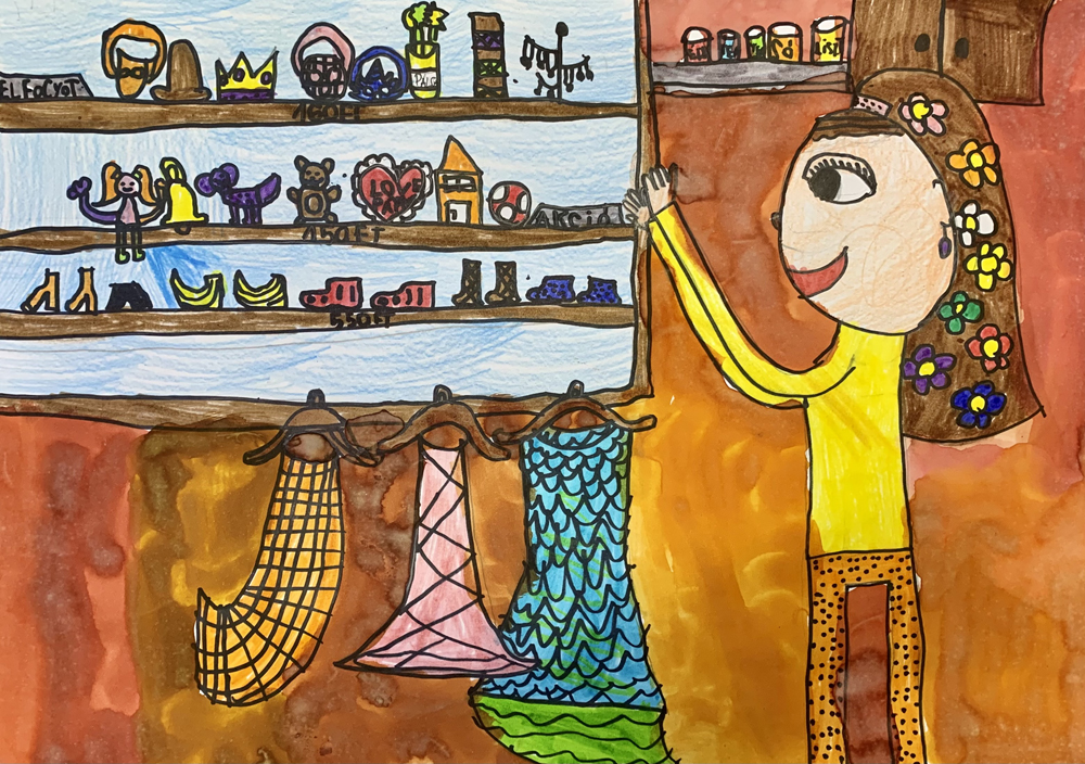 Kun Zsófia, 9 éves