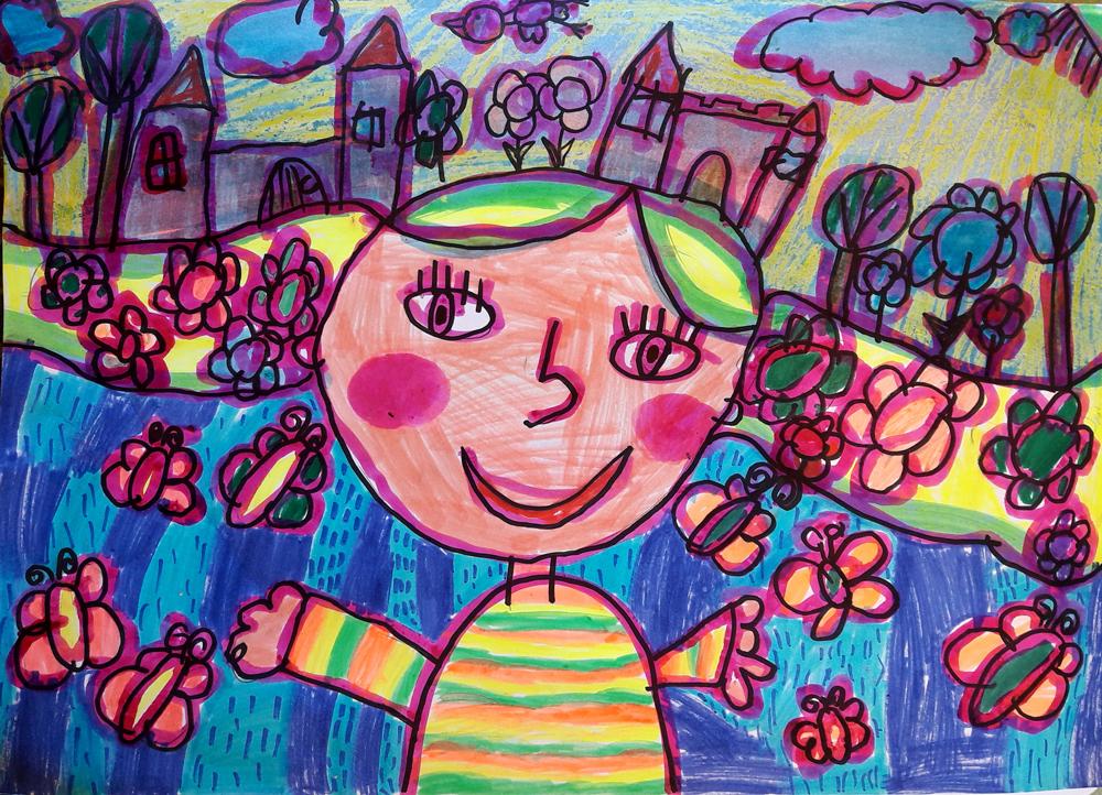 Mohácsi Fernanda, 9 éves