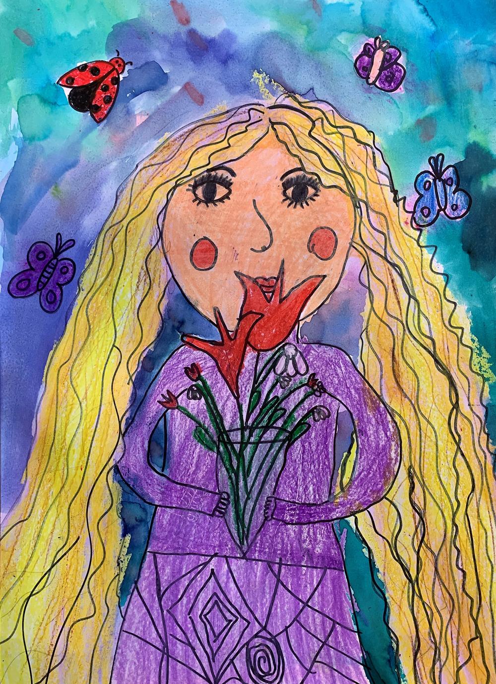 Rácz Annamária, 10 éves