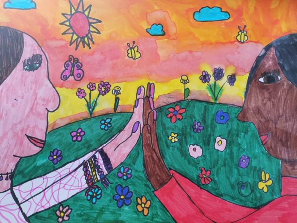 Veres Dóra Emma és Leka Katrin, 11 évesek