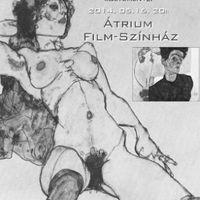 Schiele portrék - Megzenésített költemények az Átriumban