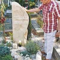 Rendbetették Schütz Ila sírhelyét