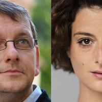 Jordán Adél és Fesztbaum Béla a Budapest Klezmer Band újévi koncertjén