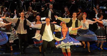 Újévi Operett Gála Budapesten