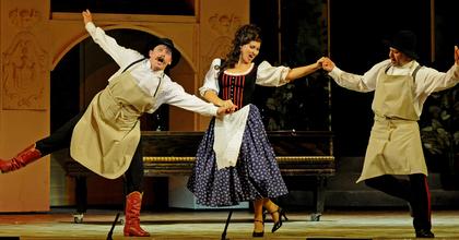 A hétvégén 3 országban lép fel az Operettszínház