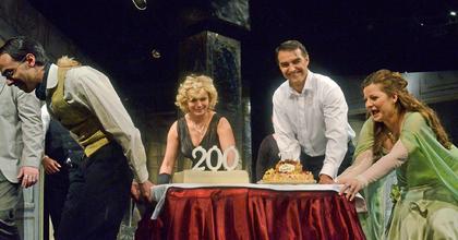 Lili Bárónőt ünnepelték az Operettben