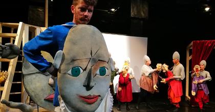 Bábopera készül Déry Tibor Az óriáscsecsemő című színművéből