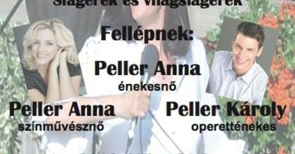 Operettgála és Peller-est Pécselyen