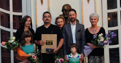 Eszenyi Enikő átadta a Várkonyi-díjat