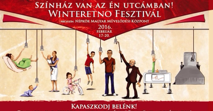 Bábelőadás, tánc, musical, vígjáték is vár a Winteretno Fesztiválon
