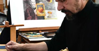Ördöngös képek és bélyegkiállítás a debreceni színházban