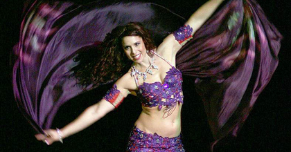 Jillina, világhírű  koreográfus