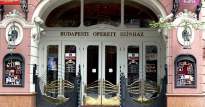 Próbajáték a Budapesti Operettszínházban
