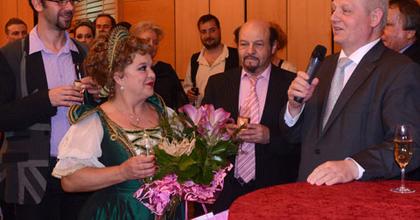 Oszvald Marikát ünnepelte a közönség