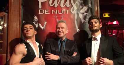 Jean-Paul Gaultier is megtekintette a Recirquel előadását Párizsban