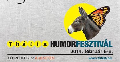 13 előadással vár a Thália Humorfesztivál