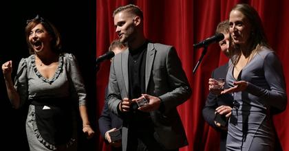 Tizedszer adták át a Zenthe Ferenc Színház Vastaps-díjait