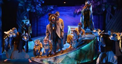 A dzsungel könyve bábokkal a Városmajorin