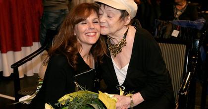 Csűrös Karola a Madách Színházban ünnepelte 80. születésnapját