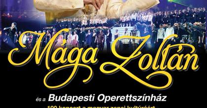 Mága Zoltán összefog az Operettszínház színészeivel