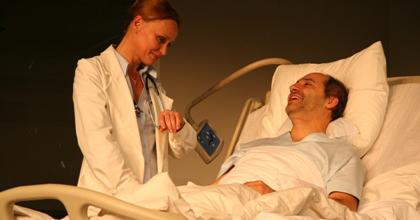 Mégis, kinek az élete? - Orvosok és színészek párbeszéde a Centrálban