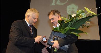 Átvette a Páger Antal-színészdíjat Gáspár Sándor