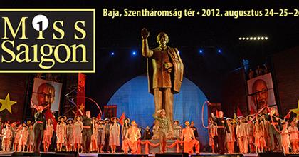 Újra monumentális Miss Saigon szabadtéren!