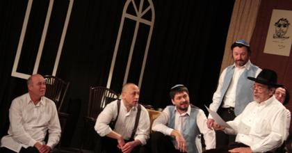 Zsidó mezőkön - Zsidó mezőkről – Kamaraszínházi megemlékezés a Bálint Házban