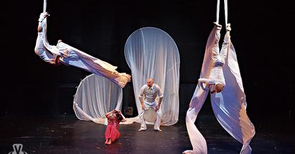 Felhőcirkusz – Cirkusz, tánc és zene gyerekeknek