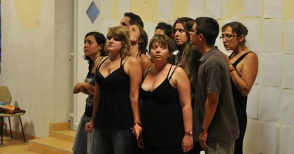 Interaktív színházi előadás a felsőoktatásról az ELTE-n