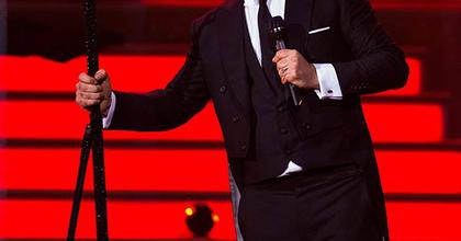 Saját életéről készítene musicalt Robbie Williams