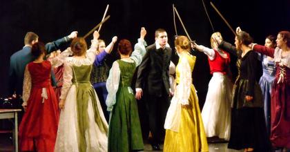 A magyar kultúra napja - Száz diák Shakespeare-előadása Veszprémben
