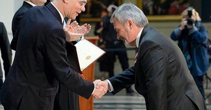 Magas állami kitüntetést kapott Makláry László és Jávori Ferenc Fegya