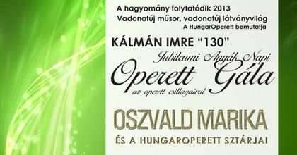 Anyák napi operett gálára készül Oszvald Marika