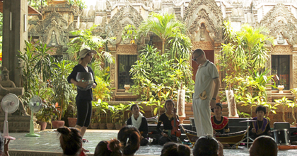 Kambodzsai cirkusziskolákban lép fel az Osonó