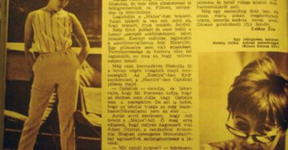 70 éves Halász Judit!