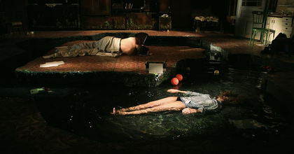 A Nyugalom Marosvásárhelyen – Bartis Attila regényéből készült előadás