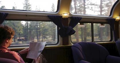 Guruló alkotóműhelyet kínál írók számára egy amerikai vasúttársaság